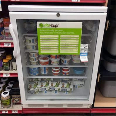 Nutritional Worm Sales Cooler by Vita-Bug