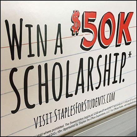 Back-To-School Scholarship Promotion Feature