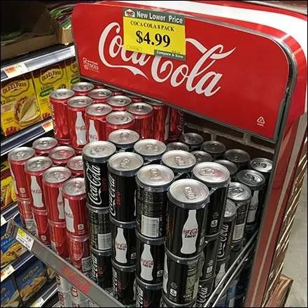 Coca-Cola Vintage Vending Machine Rack