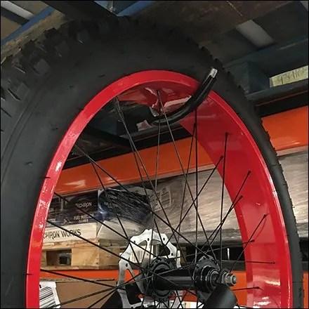 bicycle display hook for pallet rack