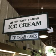 Do-It-Yourself Ice Cream Directional Sign