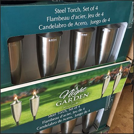 Steel Garden Torch And Fuel Cross-Sell