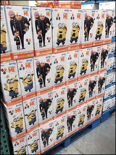 Kellogs Despicable Me Minion Snacks 2