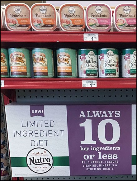 Non-GMO Food Category Definition by Endcap
