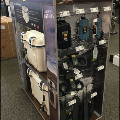 OtterBox Upgraded Cooler Merchandising