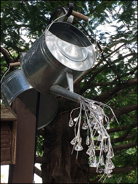 Garden Center Store Fixtures - Sprinkling Can Hero Overhead Prop
