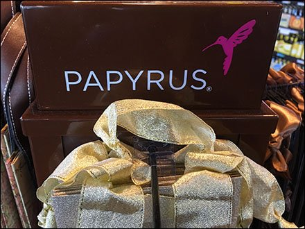 Papyrus Wine Bottle Gift Bag Tower