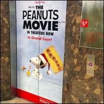 Peanuts Movie Elevator Advertising Feature