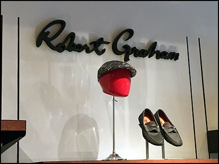 Robert Graham Color Headform Branding