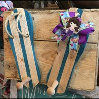 Rustic Summer Sandals Clothes Pegged At Hillside Farms