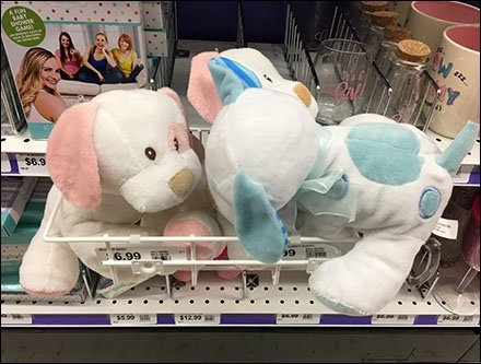 Plush Toy Open Wire Tray for Shelf-Edge