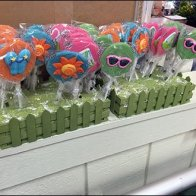 100% Edible Lollipops at Sickles Market