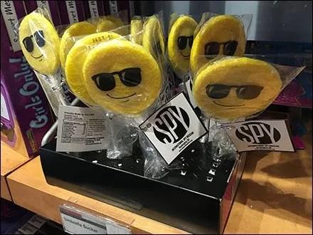 Sunglass Lollipops Incognito at The Spy Museum