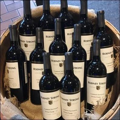 Wine Barrel Arrangements Feature
