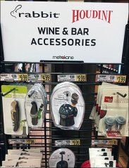Wine and Bar Accessories Gridwall Display