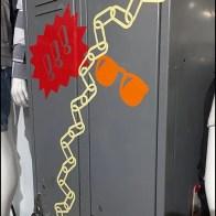Back-To-School Locker Art At Macys