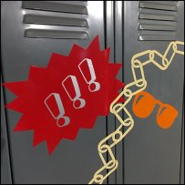 Back-To-School Locker Art At Macys
