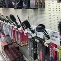 Curling Iron Holster Bar-Mount Merchandising