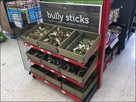 Bully Sticks Half-Height Endcap Display 2