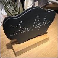 Free People Freely-Written Slate Branding