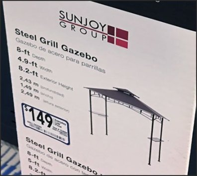 Gazebo Grilling For The Off Season