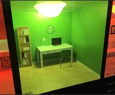 Hue Lighting Automated Try-Me Demo