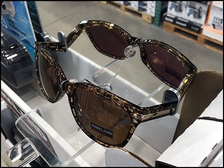 Signature Branded Sunglass Try-Me Mirror