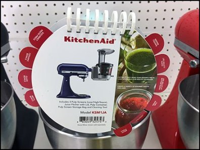 KitchenAid Spiral Bound Promo Booklet