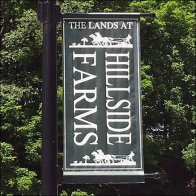 Banner Branding the Lands At Hillside Farms