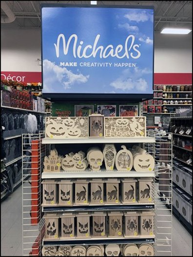 Halloween Endcap Category Definition