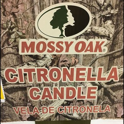 Citronella Candle Quarter Pallet Display