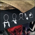 On-Package Scarf Tie Instructions Bolster Sales