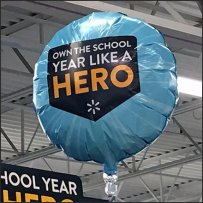 Own The School Year Like A Hero Inflatable