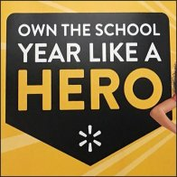 Own The School Year Like A Hero Tag Line