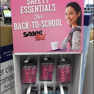 Pepper Spray Back-To-School Essential