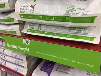 Petco Dr Foster & Smith Dog Food Display Category Definition 2