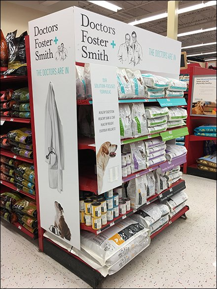 Dog Food Double Endcap Category Definition