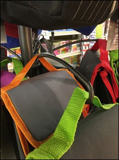 Back-To-School Curved-Arm Clothes Tree for Lunch-Boxes