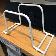 Shelf-Top Open Wire Stand Feature