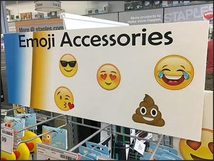 Slatwire Grid For Emoji Accessories Merchandising