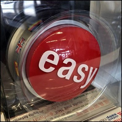 Staples Easy Button CloseUp