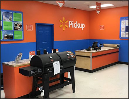 Online Order Pickup Center In-Store