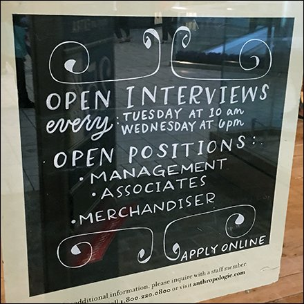 Retail Hiring and Employment
