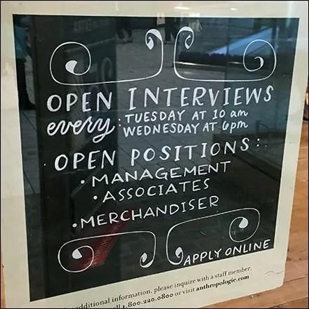 Anthropology Open Interviews Hiring Feature