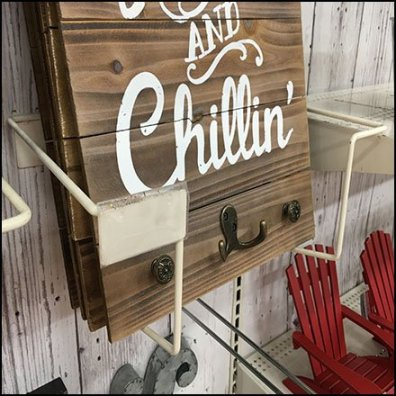 BBQ Grillin and Chillin Literature Holder Feature