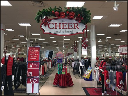 Christmas Cheer Begins Here at Bon-Ton