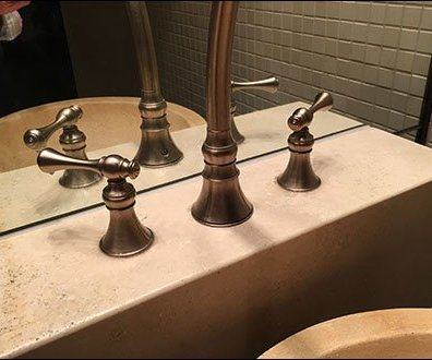 Fogo de Chao Steakhouse Restroom Sinks