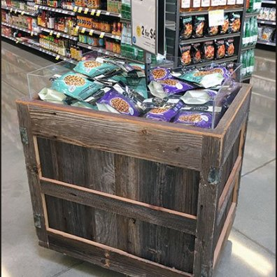 Fat Barn Board Bulk Bin at Whole Foods