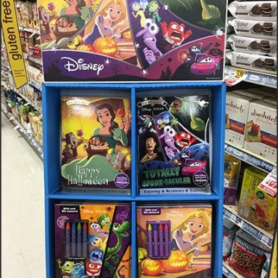 Disney Halloween Fun In-Aisle Merchandising