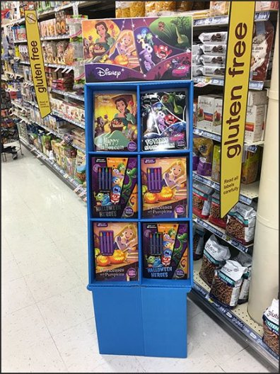 Disney Halloween Fun In-Aisle Merchandising